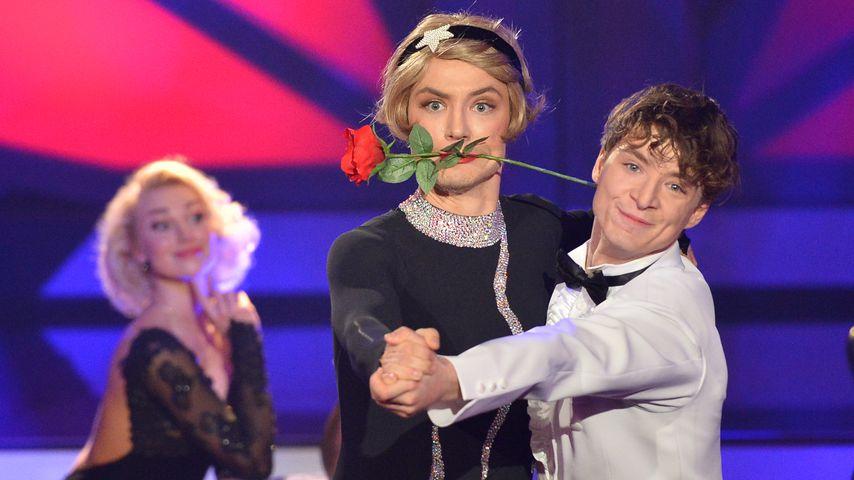 """Katja Kalugina, Heiko und Roman Lochmann bei """"Let's Dance"""", Show sieben"""