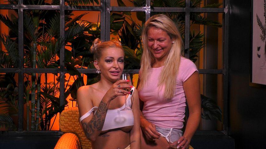 "Katja Krasavice und Chethrin Schulze bei ""Promi Big Brother"""