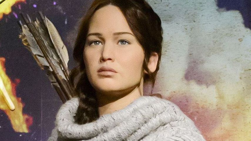 Coole Katniss: Jetzt gibt's Jen Lawrence in Wachs!