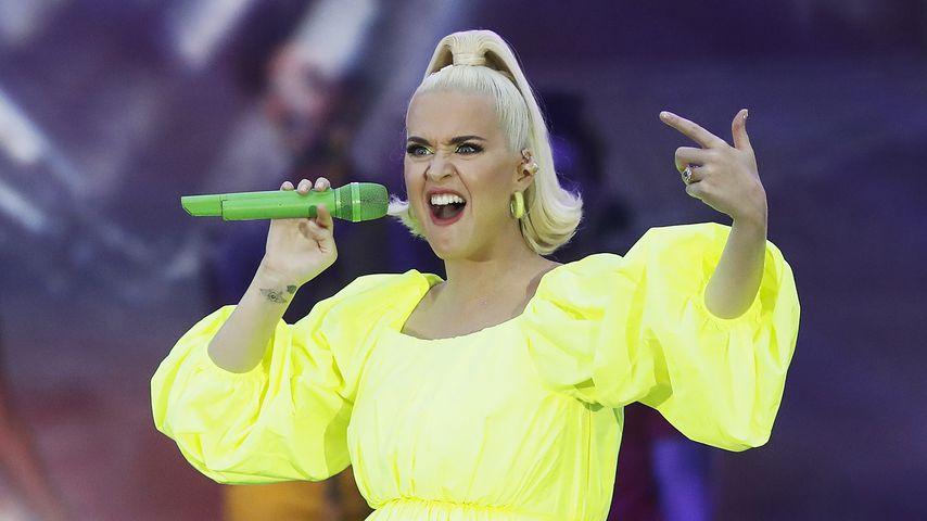 Katy Perry bei einem Auftritt im März 2020