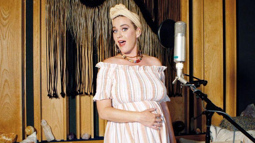 Stiefmutter-Routine: Katy Perry bestens vorbereitet auf Baby