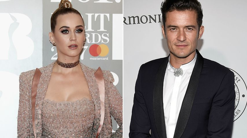 Noch eine Chance? Katy Perry & Orlando Bloom texten täglich