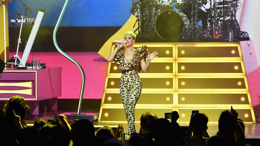 Katy Perry während ihrer Performance im The Theatre at Ace Hotel