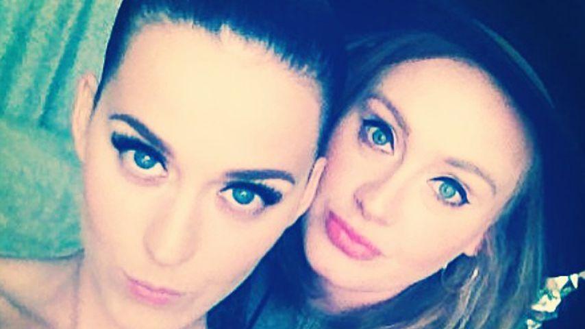 Katy Perry und Adele, 2014