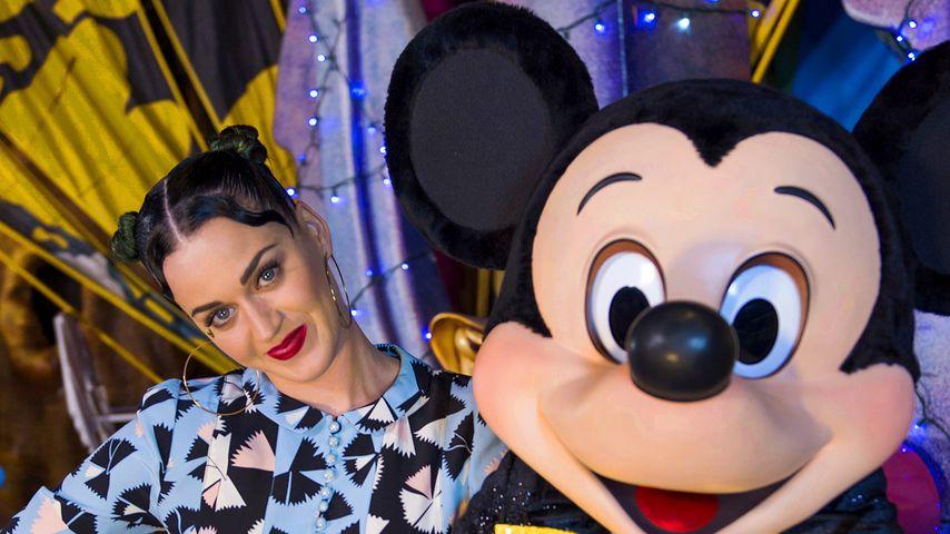 Katy Perry und Micky Maus