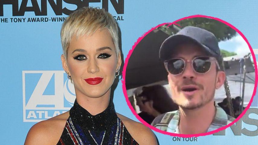 Katy Perry teilt seltene Urlaubs-Momente mit Orlando Bloom!