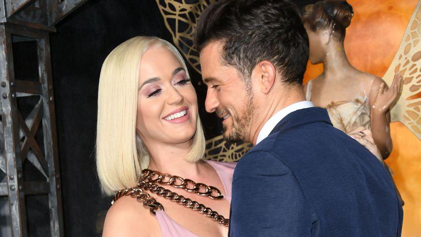 Katy Perry und Orlando Bloom 2019