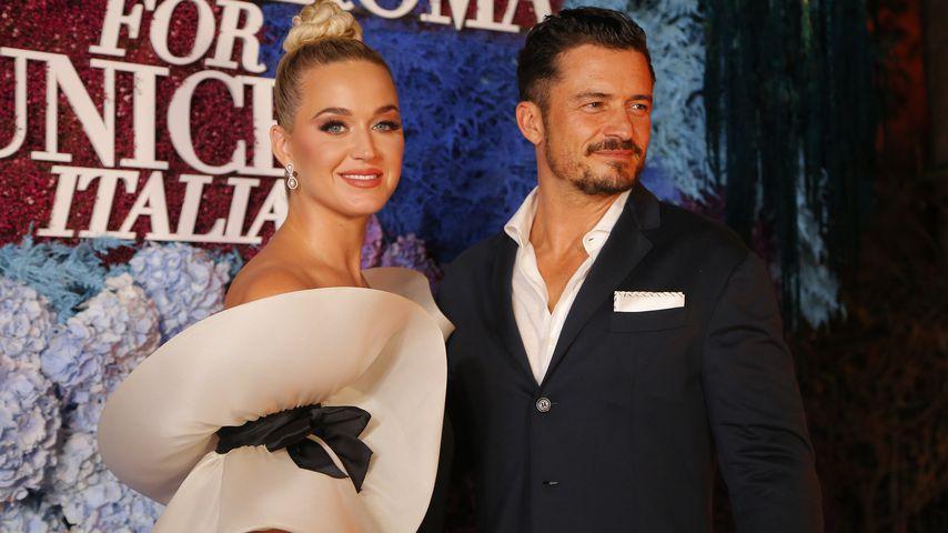 Katy Perry und Orlando Bloom im Juli 2021 in Italien