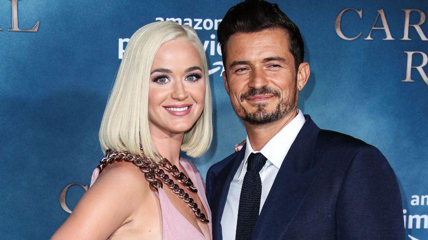 Sängerin Katy Perry und Schauspieler Orlando Bloom