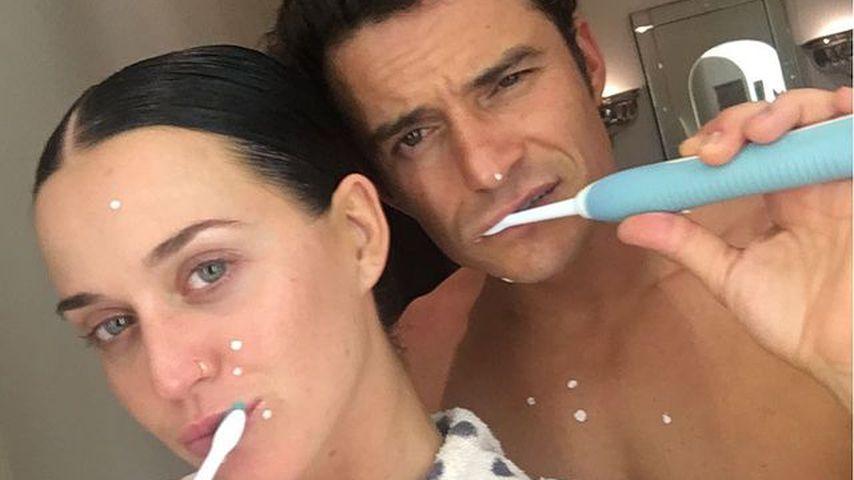 Private Fotos: So intim gratuliert Katy Perry ihrem Orlando!