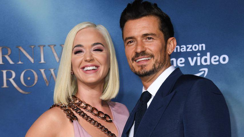 Endlich! Katy Perry und Orlando Bloom sind Eltern geworden