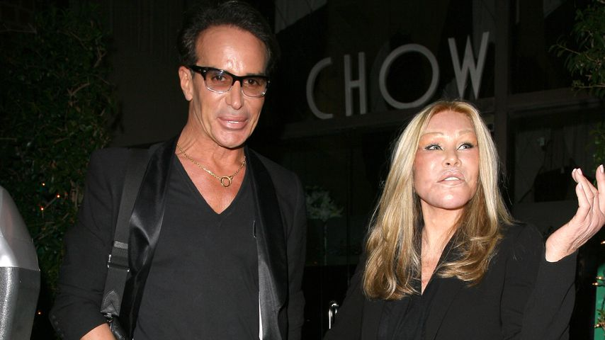 Jocelyn Wildenstein mit Lloyd Klein in Beverly Hills