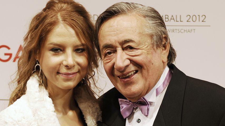 Anastasia 'Katzi' Sokol mit Richard Lugner