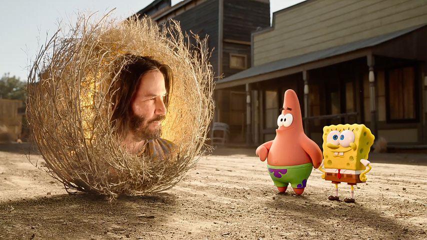 """Keanu Reeves in """"The SpongeBob Movie"""""""
