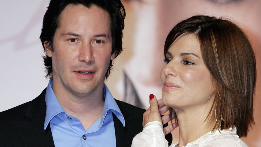 Keanu Reeves und Sandra Bullock im Jahr 2006