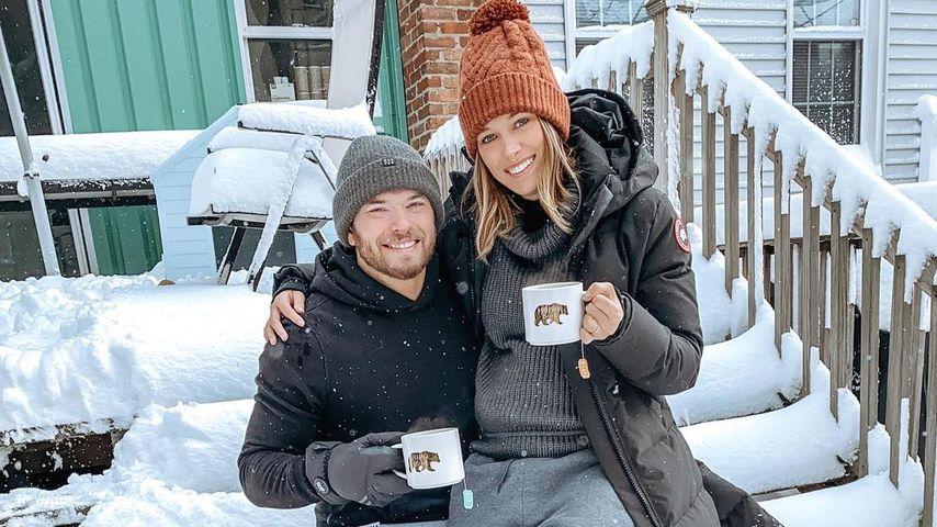 Kellan Lutz und seine Ehefrau Brittany im Dezember 2020