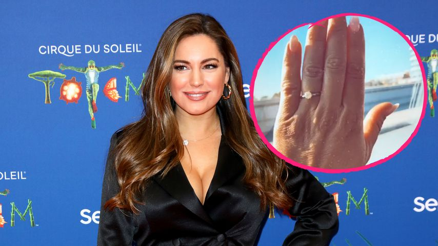 Verdächtiger Ring: Ist Kelly Brook etwa mit Freund verlobt?