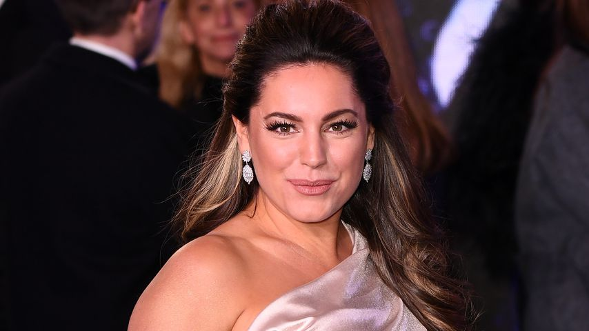 Kelly Brook auf einer Filmpremiere in London
