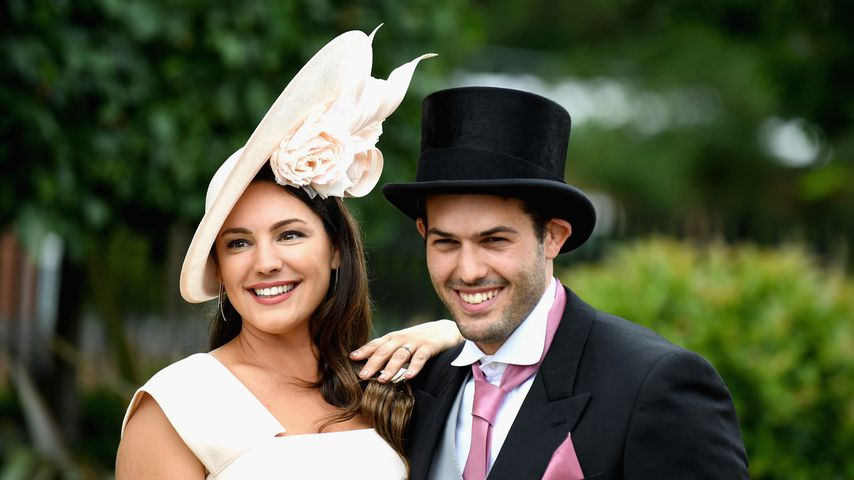 Kelly Brook und Jeremy Parisi in Ascot, England