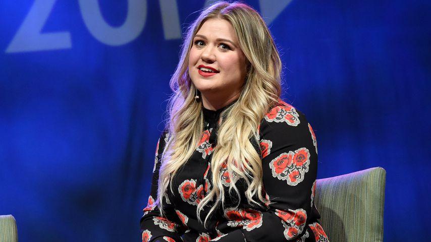 """Kelly Clarkson bei der """"Music's Leading Ladies Speak Out""""-Präsentation"""