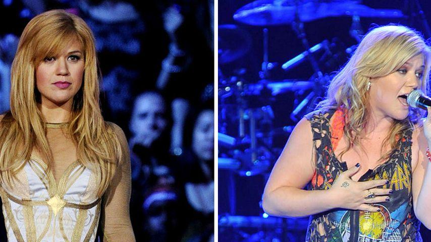 In nur 4 Monaten: Kelly Clarkson hat zugenommen