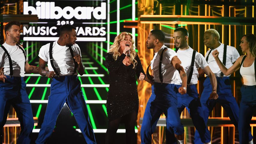 Kelly Clarkson performt bei den Billboard Music Awards in Las Vegas im Mai 2019