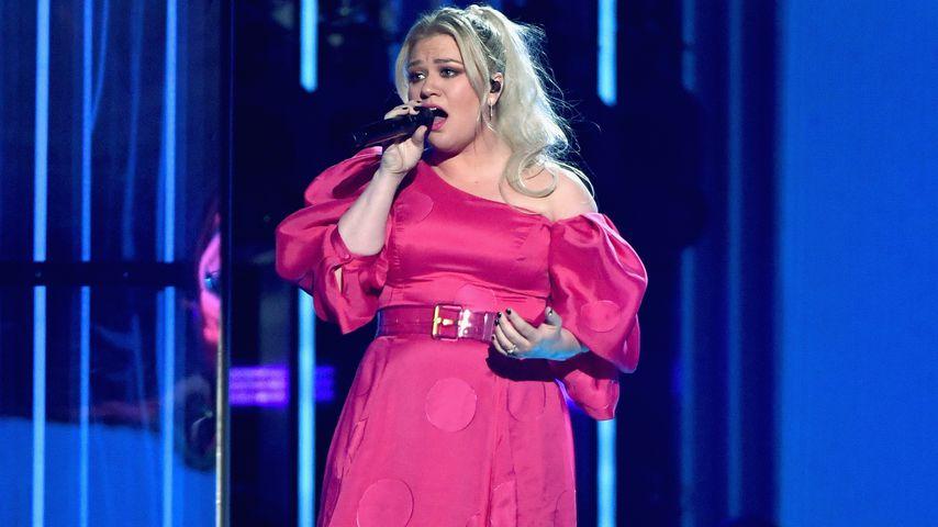 Kelly Clarkson bei ihrem Auftritt bei den Billboard Music Awards 2019