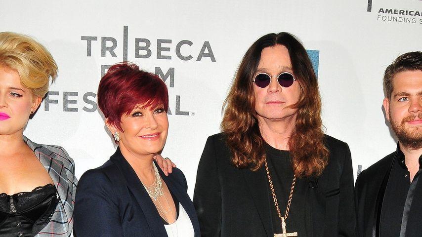 Sharon Osbourne, Ozzy Osbourne, Kelly Osbourne und Jack Osbourne