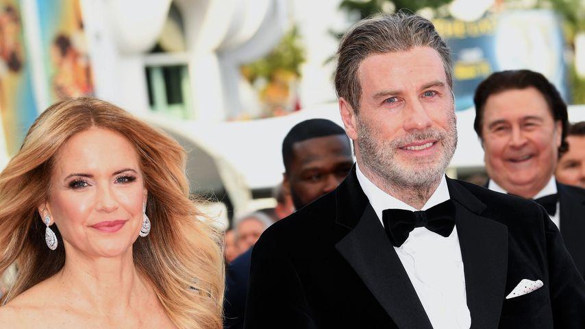Kelly Preston und John Travolta im Jahr 2018