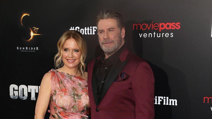Kelly Preston und John Travolta im Juni 2018 in New York