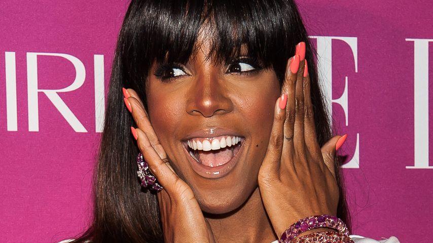 Erwischt: Kelly Rowland knutscht mit Unbekanntem