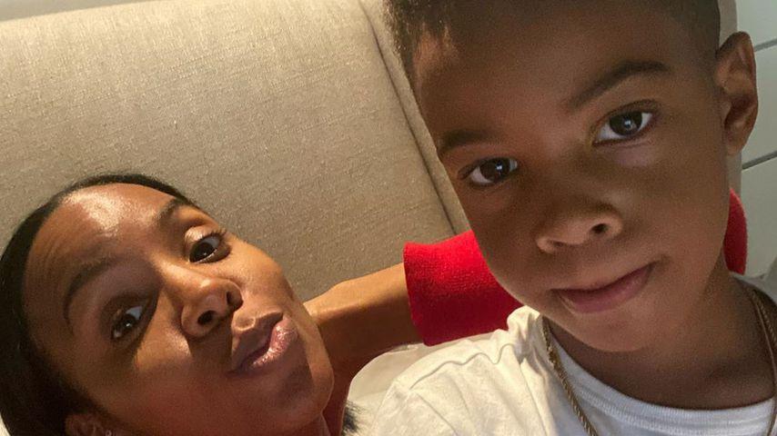 "Kelly Rowlands Sohn Titan (6) hat die Vorschule ""gerockt"""