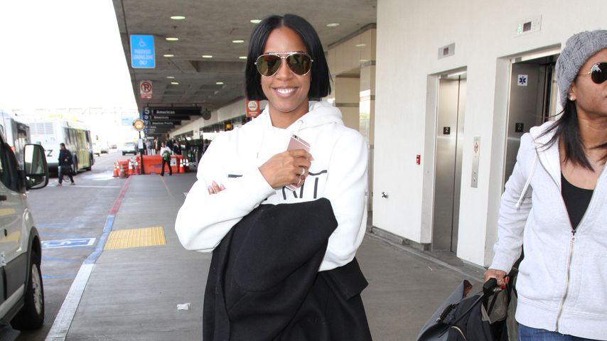 Kelly Rowland am Flughafen in Los Angeles