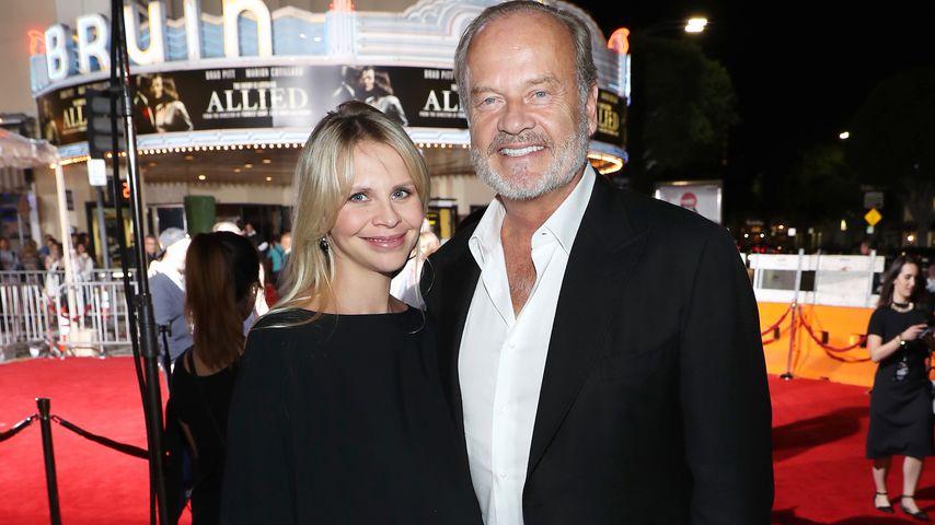 """US-Schauspieler Kelsey Grammer mit Ehefrau Kaythe Walsh beim """"Allied LA""""-Fan-Event in Westwood"""