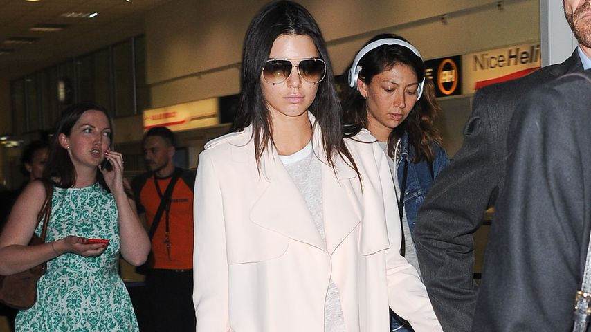 Kendall Jenner: Top gestylt nach Yacht-Ausflug in Cannes