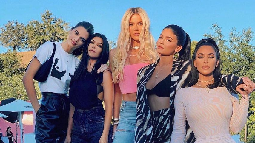 Kendall Jenner, Kourtney und Khloé Kardashian, Kylie Jenner und Kim Kardashian, 2019