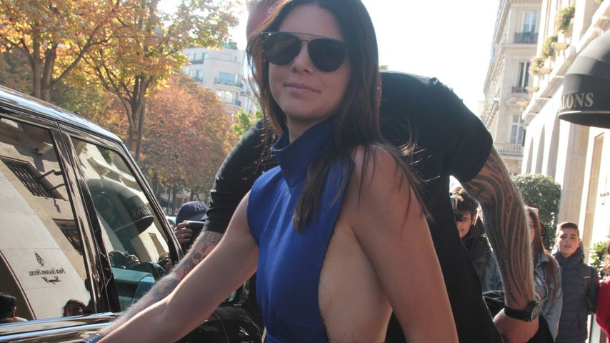 Heißer Ausschnitt: Kendall Jenner überrascht mit Sideboob