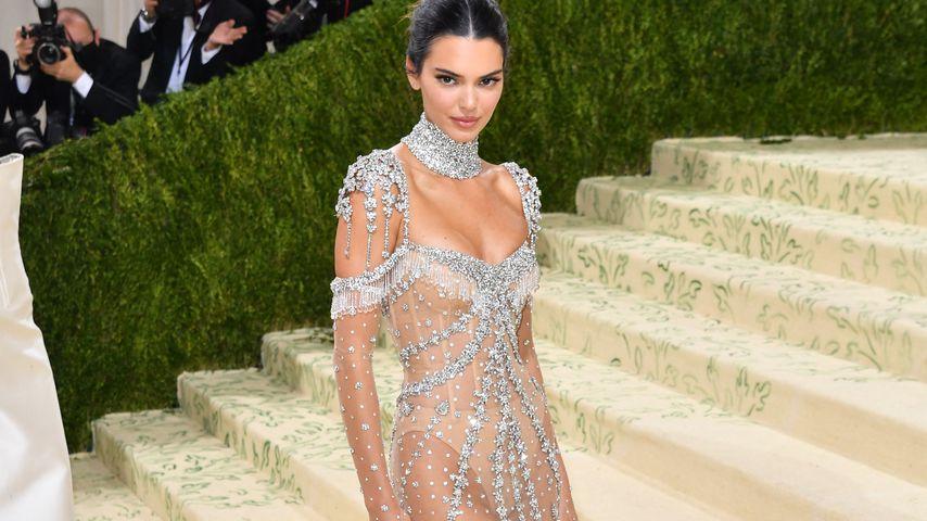 Kendall Jenner auf der Met Gala in NYC im September 2021