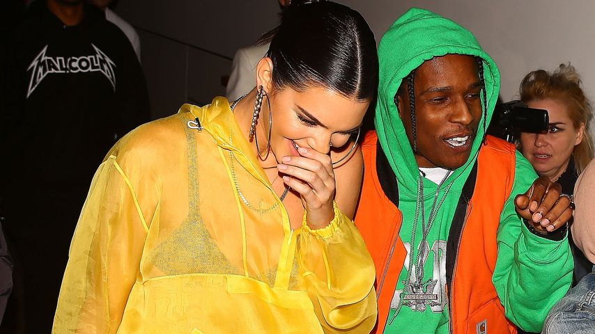 Kendall Jenner und ASAP Rocky in New York