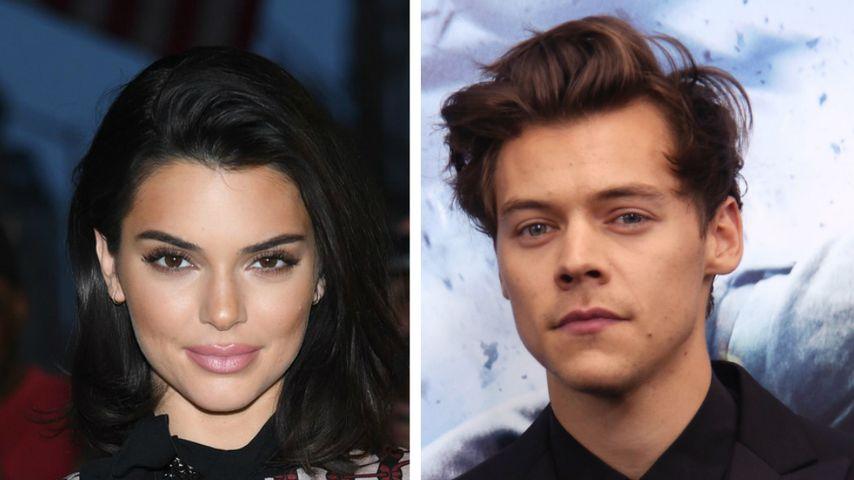 Zurück zum Ex? Kendall Jenner feiert bei Harry Styles' Show!