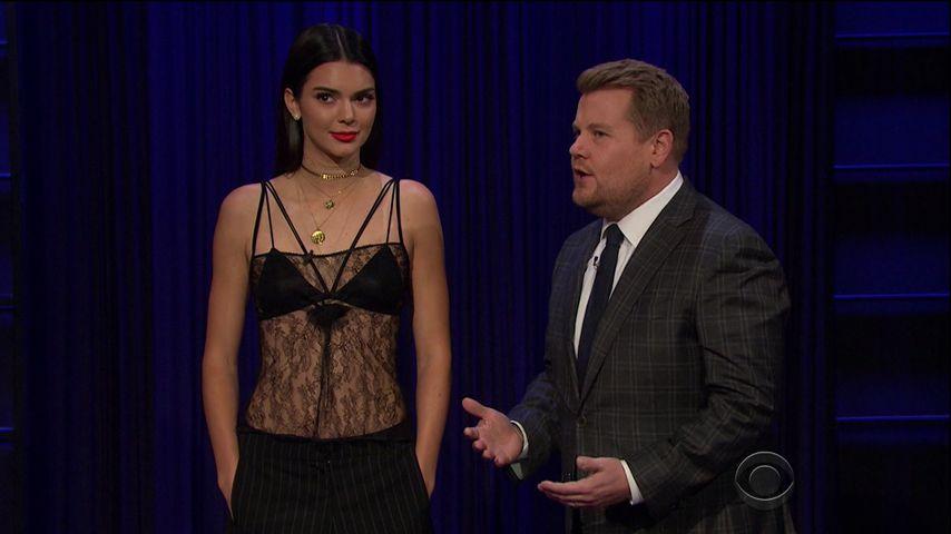 Kendall Jenner und James Corden