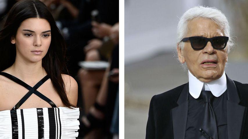 Wow! Wird Kendall Jenner die Muse von Lagerfeld?