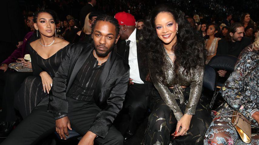 Kendrick Lamar und Rihanna bei den Grammys