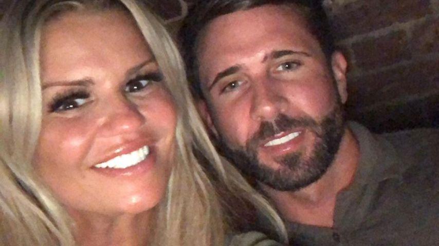 Kerry Katona mit ihrem Verlobten Ryan Mahoney
