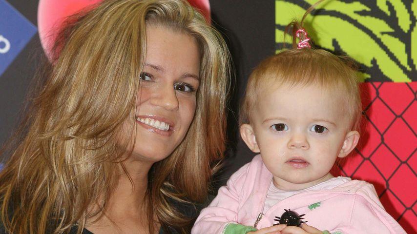 Kerry Katona mit ihrer Tochter Heidi, 2008