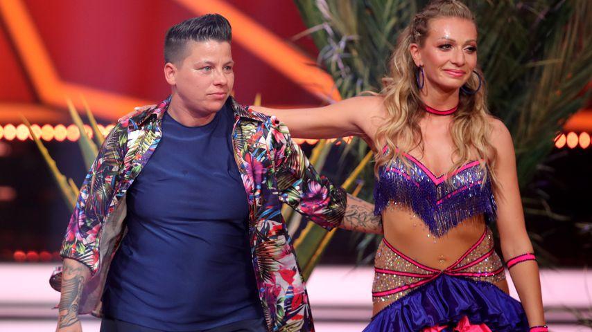 """Kerstin Ott und Regina Luca bei """"Let's Dance"""""""