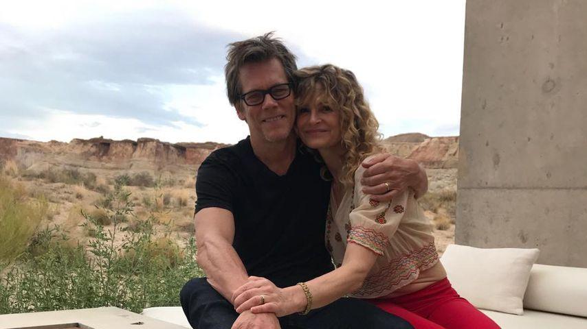 Kevin Bacon und seine Frau Kyra Sedgwick, September 2018