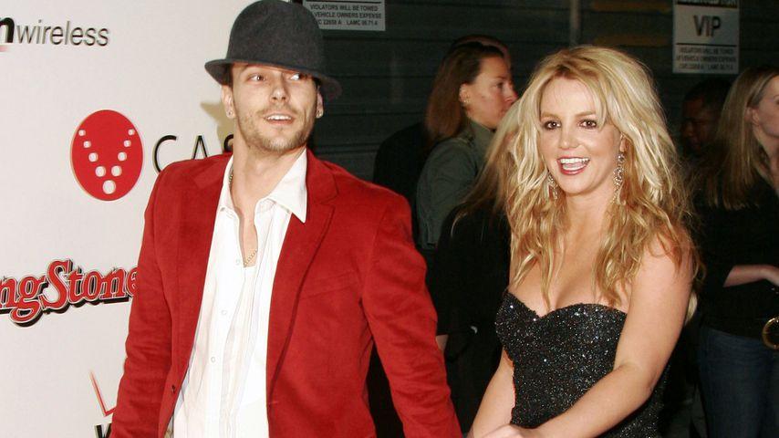 Kevin Federline und Britney Spears im Februar 2005 in Kalifornien