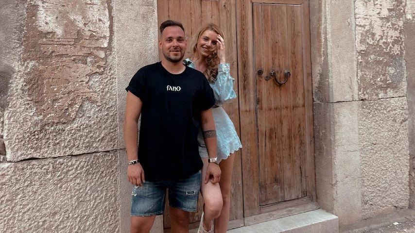 Kevin Jenewein und Pia-Sophie Remmel im Juni 2021