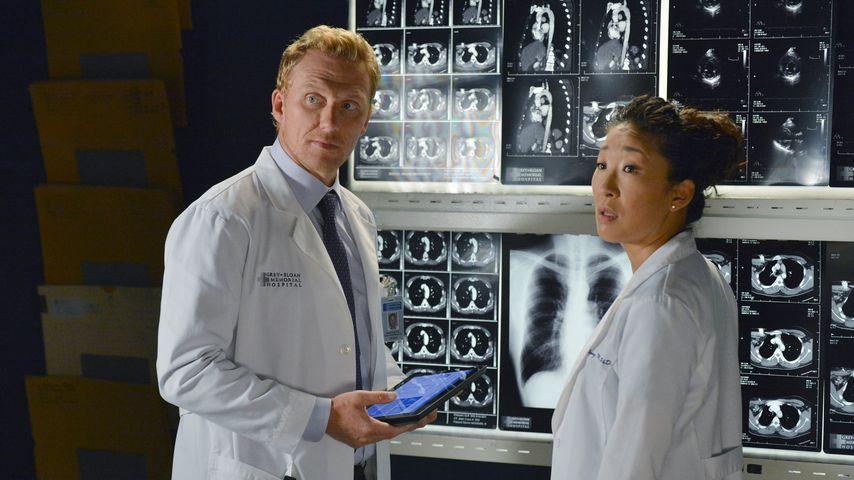 """Kevin McKidd und Sandra Oh als Owen Hunt und Cristina Yang bei """"Grey's Anatomy"""""""